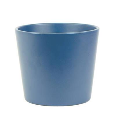 Millie 15cm Midnight Blue Matte Ceramic Pot