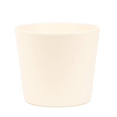 Millie 15cm Panna Matte Ceramic Pot