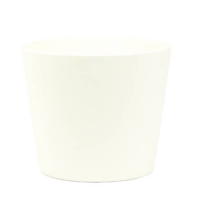 Millie 15cm Vanilla Matte Ceramic Pot
