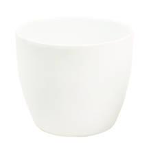 Dana 15cm White Gloss Ceramic Pot