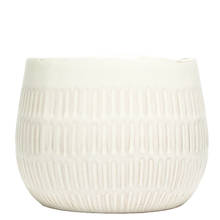 Emma 15cm Line Gloss Ceramic Pot
