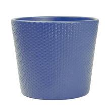 Lina 15cm Midnight Blue Ceramic Pot