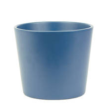 Millie 15cm Midnight Blue Matte Ceramic Pot