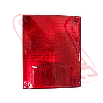 REAR LAMP - LENS - L/H=R/H - RED