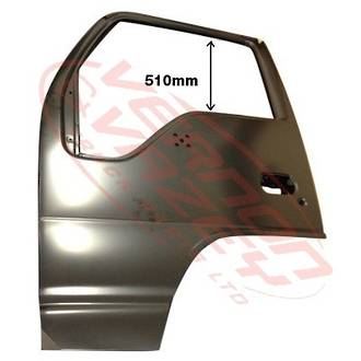 FRONT DOOR SHELL - L/H - HI ROOF - AUST