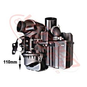AIR CLEANER BOX - 80mm - DIRTY AIR SIDE - ISUZU ELF NPR/NRR/NKR/NHR 1994-01