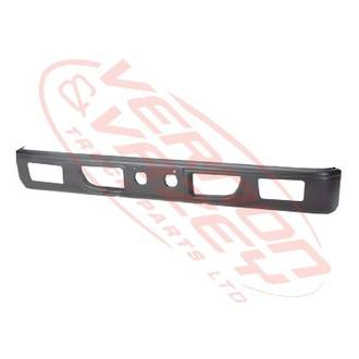FRONT BUMPER - NARROW - BLACK - W/FOG HOLE