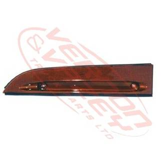 HEADLAMP - GARNISH - L/H - UPPER - AMBER - ISUZU ELF NPR/NRR/NKR/NHR 1994-