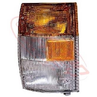 CORNER LAMP - L/H - CLEAR/AMBER