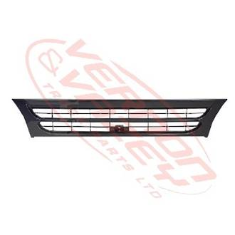 GRILLE - WIDE - BLACK - 1 BAR