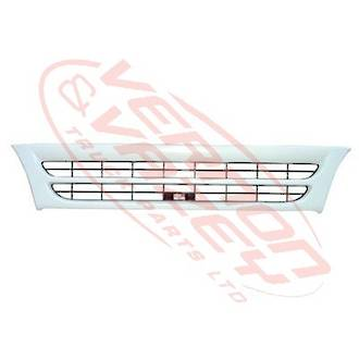 GRILLE - WIDE - WHITE - 1 BAR