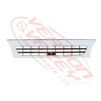 GRILLE - WIDE - WHITE - 2 BAR