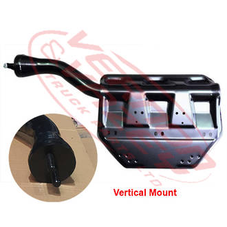 REAR MUD GUARD BRACKET - R/H - VERTICAL MOUNT