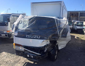 BOX BODY CURTAINSIDER ISUZU ELF - ISUZU ELF 1993