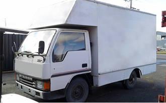 TRUCK - 4DR5 - MITSUBISHI CANTER 1990