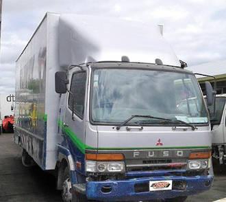 TRUCK - BLOWN ENGINE - MITSUBISHI FIGHTER FK612 1996