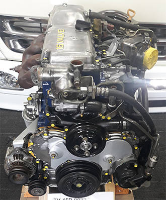 TOYOTA ENGINE 15B - MULTI VALVE
