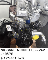 NISSAN ENGINE FE6-24V