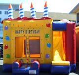 Bouncy Castle - Birthday Cake
