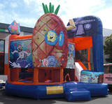 Bouncy Castles - Spongebob