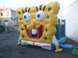 Bouncy Castles - Junior Spongebob