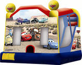 Bouncy Castles - Cars