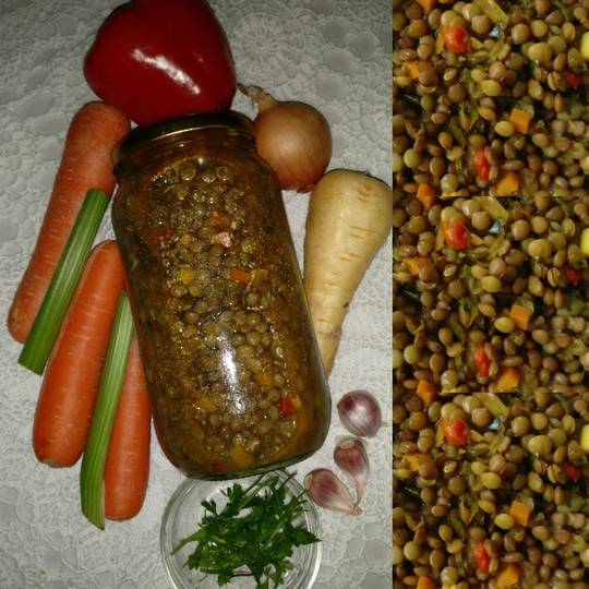 NZ lentil and Vegetable Soup