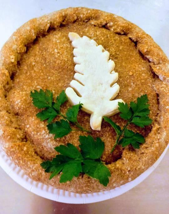Vegan Veggies Lentil Pie