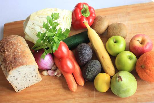 Fresh Fruit and Veg Box + Bread