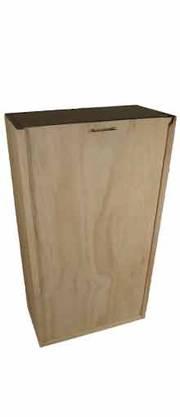 Double Bottle Wooden Winebox