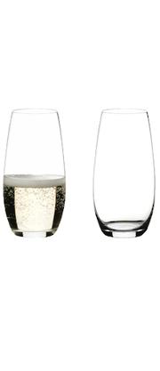 Riedel O Wine Tumbler Champagne Twin Pack