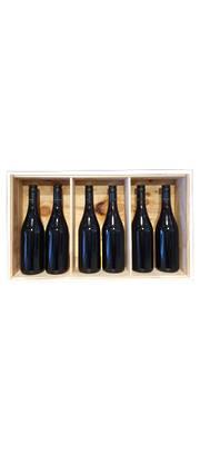 Six Bottle Wooden Winebox