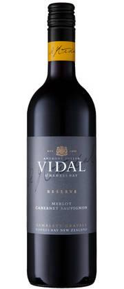 Vidal Reserve Merlot Cabernet 2017