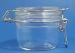 125ml Flint Fido Round Clamp Top Jar