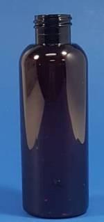 125ml Amber PET Tall Boston Bottle