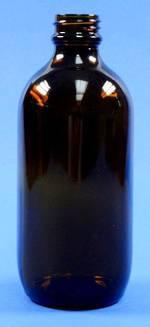 200ml Amber Pharm. Round