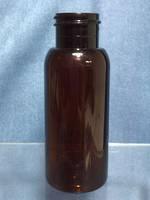 50ML Amber Pet Boston Bottle