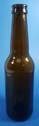 330ml Amber Longneck Beer Bottle
