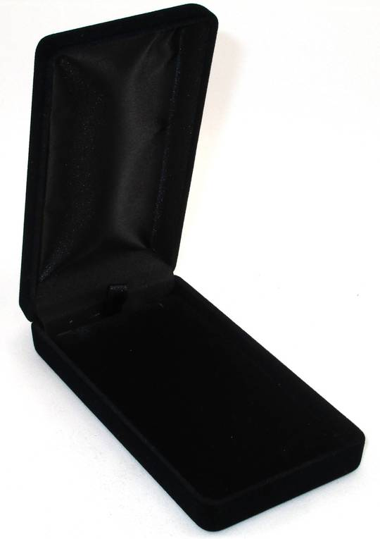 SSLP - LONG PENDANT BOX BLACK FLOCK BLACK PAD