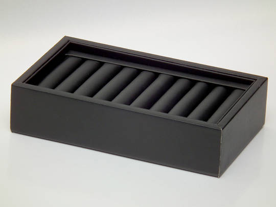 RING DISPLAY TRAY 10 ROLLS BLACK VINYL