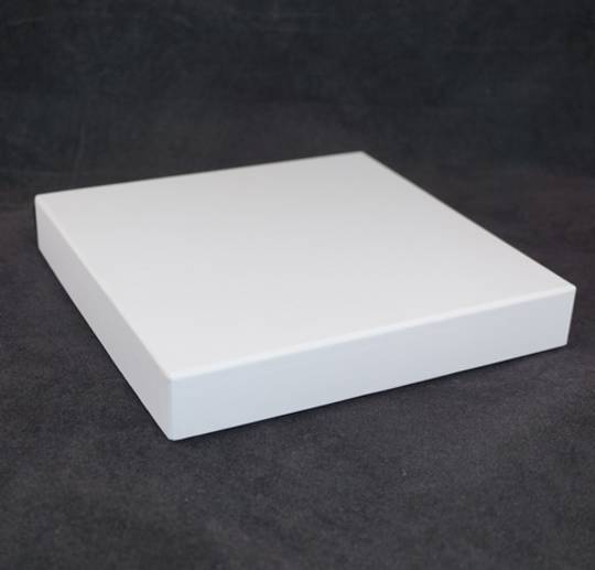 CB20 - NECKLACE BOX CARDBOARD WHITE WHITE PAD