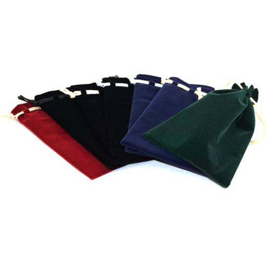 VELVET POUCH XL 105 x 155MM