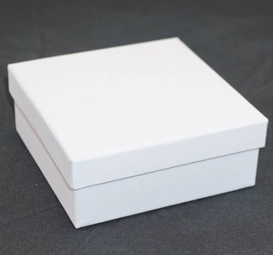CB10 - LARGE MULTI BOX CARDBOARD WHITE BLACK PAD