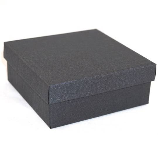 CB10 - LARGE MULTI BOX CARDBOARD GUNMETAL BLACK PAD