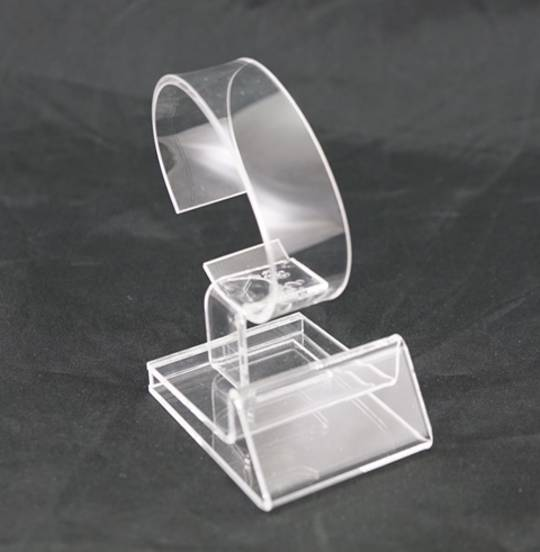 WATCH/BANGLE DISPLAY STAND CLEAR PERSPEX