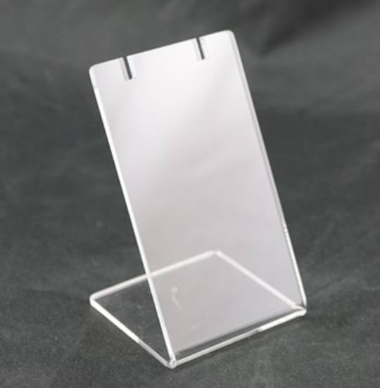 PENDANT / DROP EARRING STAND CLEAR PERSPEX
