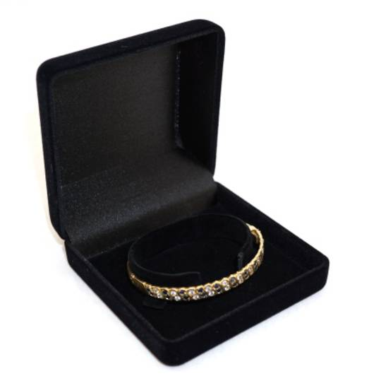 SSSB - BANGLE BOX BLACK FLOCK BLACK CLIP