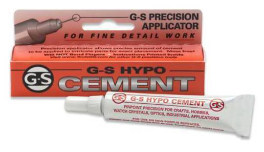 G.S. HYPO CEMENT - for fine detail work