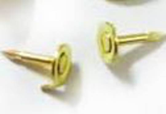 BADGE TIE TACK PINS GOLD PLATED (10 PACK)