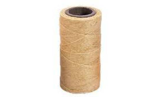 BEIGE SEMI WAXED JEWELLERY CORD 0.8MM / FULL ROLL (500 MTRS)